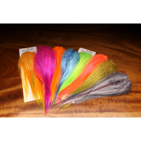 Big Fly Fiber with Curl