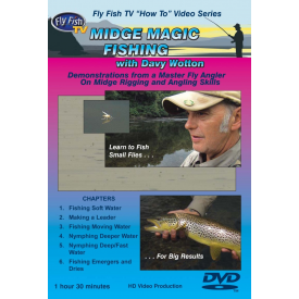 Midge Magic Fishing & Tying 2-DVD Set