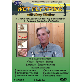 Davy Wotton's Wet Fly Tying DVD