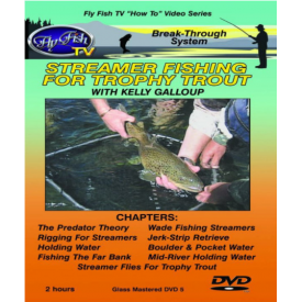 Streamer Fishing for Trophy Trout DVD
