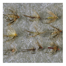 feather-craft FEATHER-CRAFT Davy Wotton's 'Soft Hackle' Fly Assortment