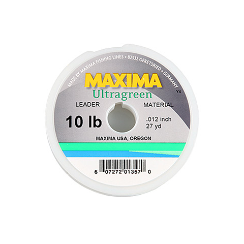 Maxima MAXIMA Ultra-Green Nylon Tippet/Leader-Building Material