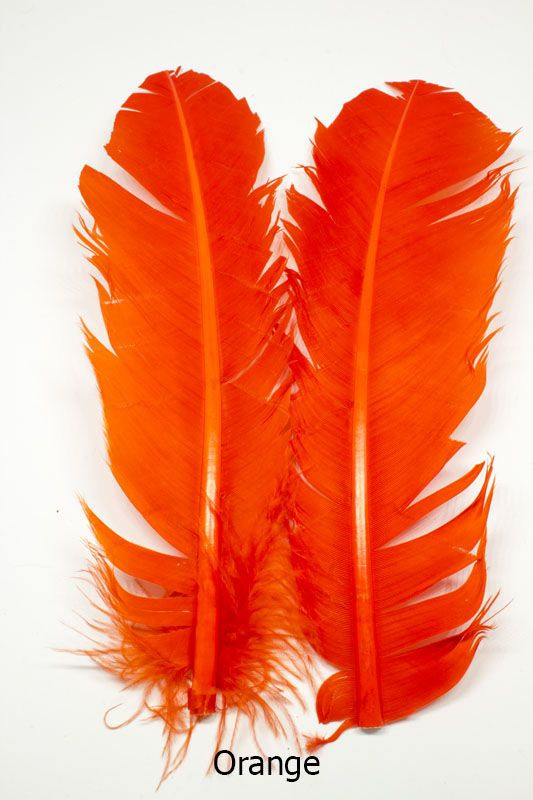Feather Craft Feather Craft Dyed Turkey Rounds Feather