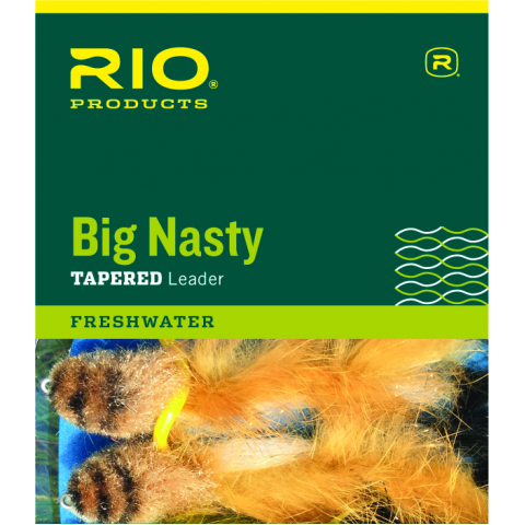 rio RIO Big Nasty 6-Foot Knotless Tapered Leader