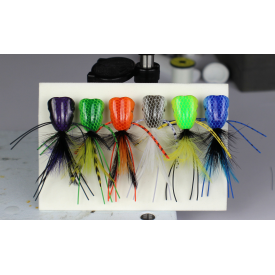 flymen fishing company SURFACE SEDUCER Double Barrel Poppers