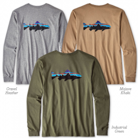 patagonia PATAGONIA Fitz Roy Trout Long Sleeve T-Shirt