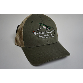 feather-craft FC Logo Trucker Hat