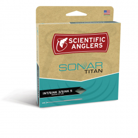scientific anglers SONAR Titan Intermediate/Sink-3/Sink-5 Full Sinking Coldwater Fly Lines