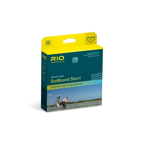 Rio RIO TROPICAL OUTBOUND SHORT Floating/10ft Intermediate Tip Fly Line