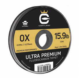 cortland CORTLAND Ultra Premium Fluorocarbon Tippet Material