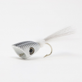 flymen fishing company SURFACE SEDUCER Double Barrel Baitfish Popper