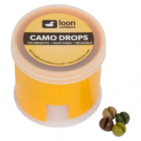 loon LOON Camo Drops Non-Toxic Tin Removable Weights