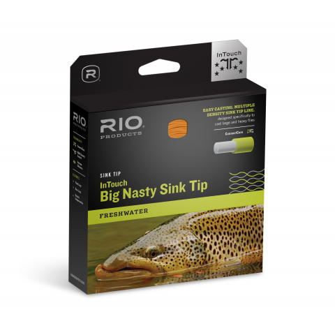 rio RIO In-Touch Big Nasty Sink Tip Fly Line - Float/Intermediate/Sink-3/Sink-5