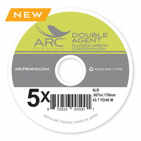 ARC Double-Agent Fluorocarbon Coated Tippet Material
