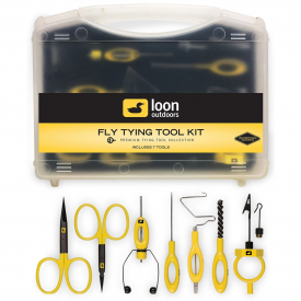 loon LOON Ergo Fly Tying Tool Kit