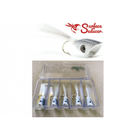 SURFACE SEDUCER Double Barrel Baitfish Popper - 5-Popper Selection