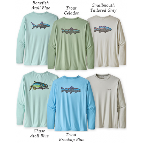patagonia PATAGONIA Capilene Cool Daily Fish Graphic Tee