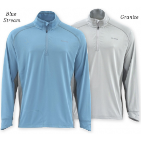 simms 30% OFF SIMMS Solarflex 1/2 Zip Shirt - Solid Colors