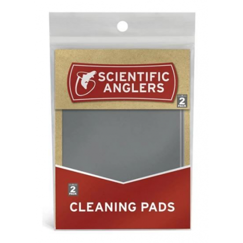 SCIENTIFIC ANGLERS Fly Line Cleaning Pads - 2-Pack