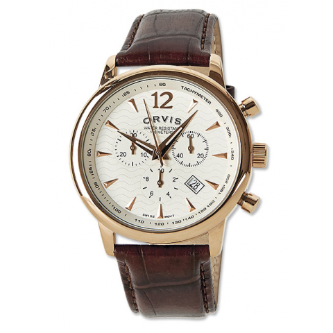 orvis ORVIS Rose Gold Chronograph