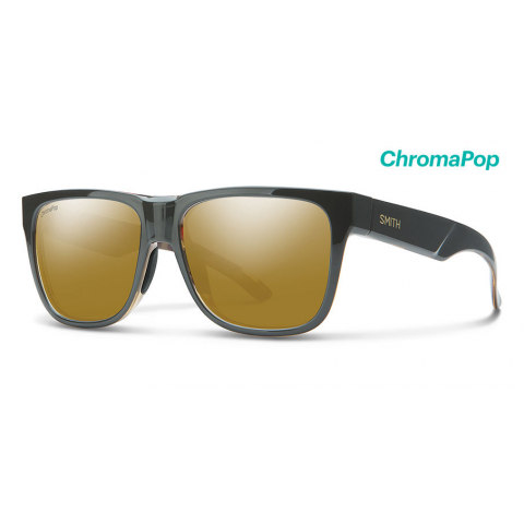 smith optics SMITH Lowdown 2 with Gravt-Tortoise Frame & Chromapop Polarized Bronze Mirror Lens