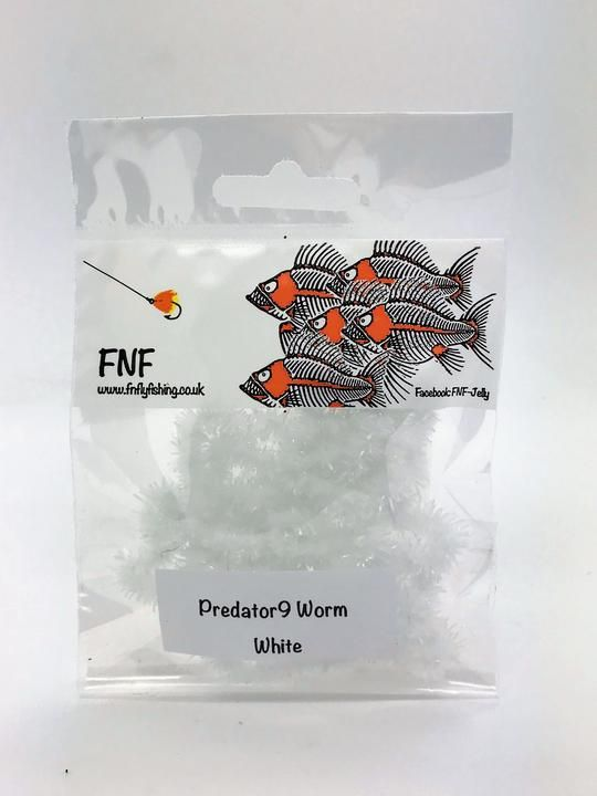 Fnf Predator 9 Worm Soft Chenille Feather Craft Fly Fishing