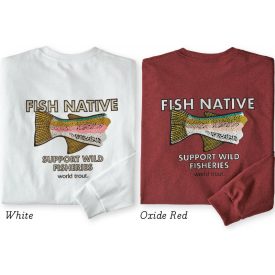 patagonia 40% OFF! PATAGONIA Fish Native World Trout Responsibili-Tee