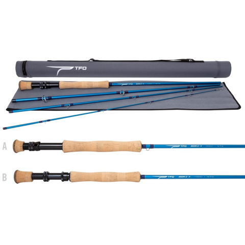 temple fork TFO AXIOM II-X Fly Rod
