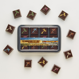 The Montana Fly Box - Chocolates