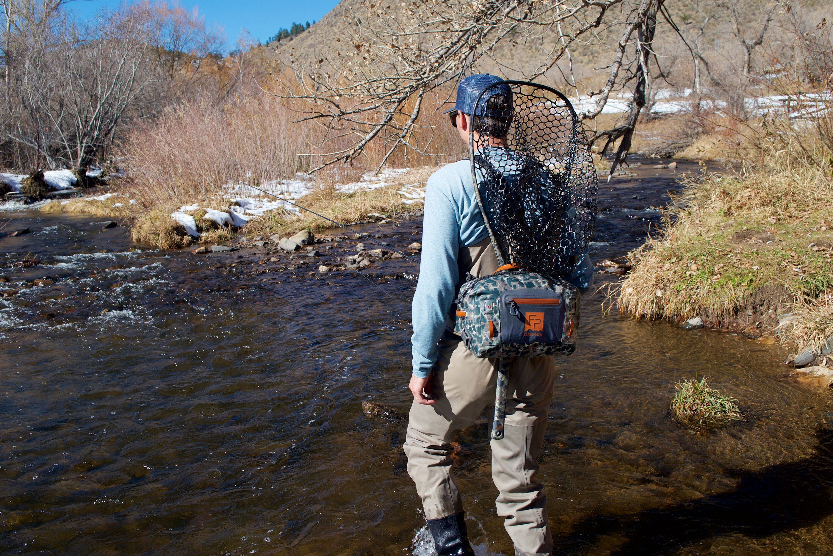 NEW FISHPOND THUNDERHEAD SUBMERSIBLE LUMBAR SHALE fly fishing pack waterproof