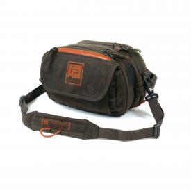 fishpond FISHPOND Waxed Canvas Blue River Chest/Lumbar Pack