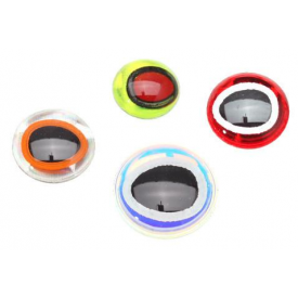 Oval 3D Adhesive Eyes
