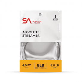 SA Absolute 4-foot Streamer Leader
