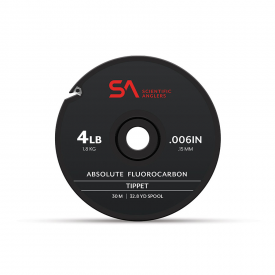 SA Absolute Fluorocarbon Tippet Material