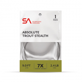 SA Absolute Trout Stealth Leader