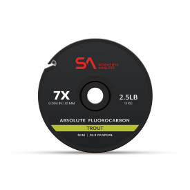 SA Absolute Trout Fluorocarbon Tippet Material