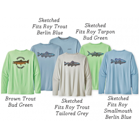 patagonia PATAGONIA Capilene Cool Daily Fish Graphic Tee - Long Sleeve