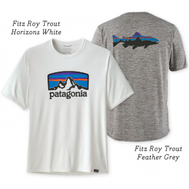 patagonia PATAGONIA Capilene Cool Daily Graphic Shirt - Short Sleeve