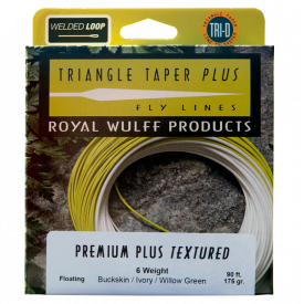royal wulff LEE WULFF Triangle Taper Premium Plus Textured Floating Fly Line