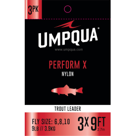 UMPQUA Perform-X Knotless 9ft Trout Leader