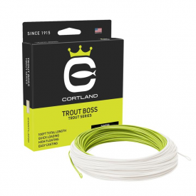 cortland CORTLAND Trout Boss Floating Fly Line
