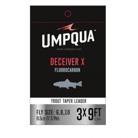 umpqua UMPQUA Deceiver-X 9-Foot Tapered Leaders