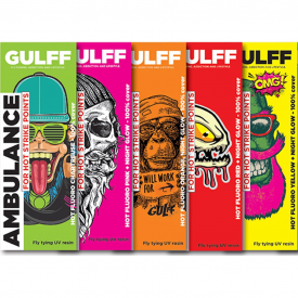 GULFF UV Fluorescent Resins