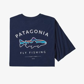 patagonia PATAGONIA Framed Fitz Roy Trout Organic Cotton T-Shirt