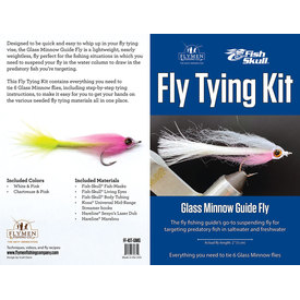 flymen fishing company FLYMEN Glass Minnow Guide Fly Kit