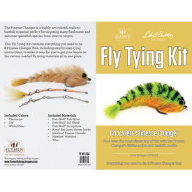 flymen fishing company FLYMEN Finesse Game Changer Fly Tying Kit