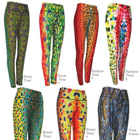Women's All Sport Fish Print Leggings