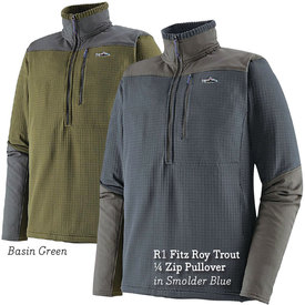 patagonia PATAGONIA R1 Fitz Roy Trout 1/4 Zip Pullover