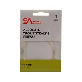 scientific anglers SA ABSOLUTE Trout Stealth Finesse Leaders