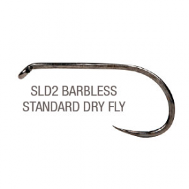 partridge PARTRIDGE SLD2 Barbless Standard Dry Fly Hook